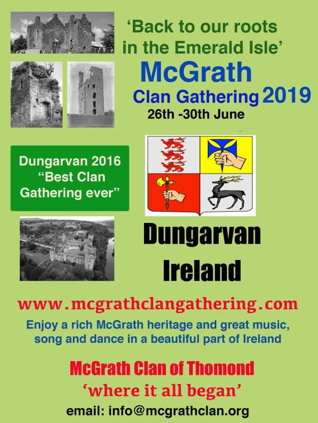 McGrath Clan 2019 Dungarvan