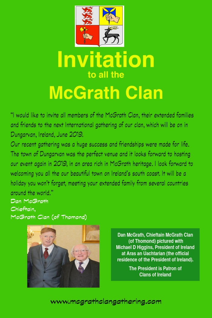 McGrath new pr